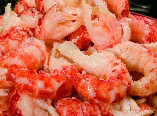 frozen crayfish tailmeat